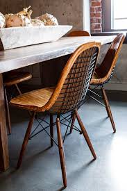 interior appealing wrought iron chairs and table in sunroom best 25 industrial dining chairs ideas on pinterest industrial