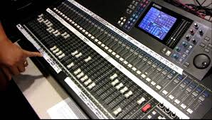 Studio Mixer Desk by Yamaha Digital Mixing Console Ls9 32 Tutorial By Haniel Trisna