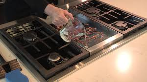 Kitchenaide Cooktop Cleaning Your Chrome Infused Griddle Youtube