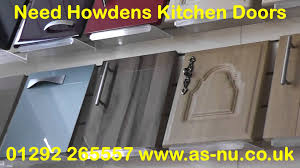 Replacement Kitchen Cabinet Doors And Drawers Got Old Howdens Kitchen Doors And Old Howdens Kitchens Youtube
