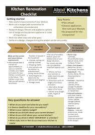 Home Design Checklist by Kitchen Kitchen Renovation Checklist Beautiful Home Design Top