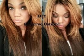 reverse ombre hair photos reverse ombre tutorial youtube