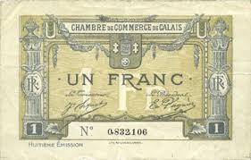 chambre de commerce de calais banknotes emergency notes calais 14 chambre de commerce