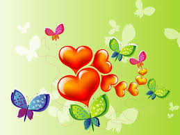heart design for powerpoint free shapes design of butterflies and heart backgrounds for