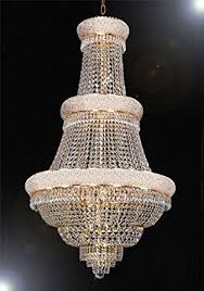 Light Crystal Chandelier French Empire Crystal Chandelier Lighting H50
