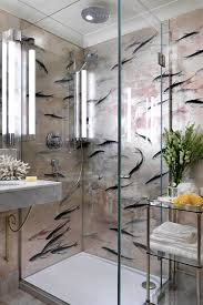 idea for small bathrooms small bathroom de gournay wallpaper small bathroom ideas