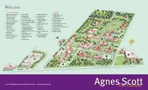 Illinois State Campus Map by Inman Hall Agnes Scott College Google Search College