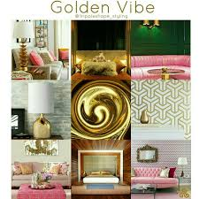 interior trend 2017 golden vibe interior trend 2017 with a touch of pink trends 2017