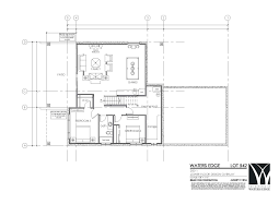 542 lower floor plan the estates at waters edge