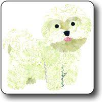 bichon frise quilt take a look at this ginger bichon frise vase by pavilion gift