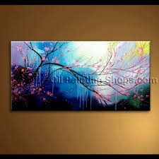 unique painting abstract feng shui unique painting floral tree plum blossom modern