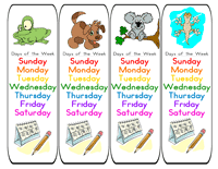 preschool calendar printables