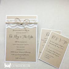 Wedding Invitations Rustic Lace Wedding Invitations Free Shipping