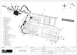 mapping layout perusahaan lsf lintech seaside facility facilities layout capacity