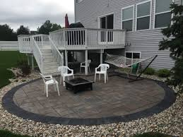 Paver Patio Installation by Landscaping Grand Rapids Mi Platinum Ponds U0026 Landscaping Gallery