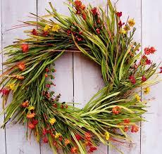 etsy fall wreaths autumn trevey