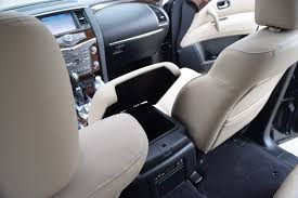 nissan armada seat covers 2017 nissan armada platinum road test review by tim esterdahl