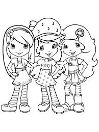 blueberry muffin strawberry shortcake coloring pages eliolera com