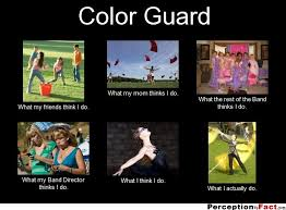 Color Guard Memes - funny colour sayings quote the best collection of quotes