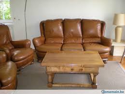 canapé cuir style anglais canapé en cuir style anglais darlington jean roche a vendre
