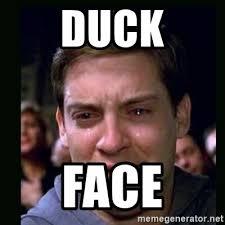 Peter Parker Meme Face - duck face crying peter parker meme generator