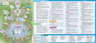 Disney World Magic Kingdom Map Walt Disney World Maps Wdw Planning