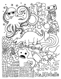 grade 6 coloring pages