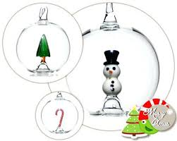 German Christmas Decorations Uk by Hand Blown Glass Christmas Ornaments German Hand Blown Violet Chip
