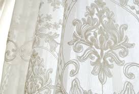Cheap Curtains Vancouver European Embroidery White Custom Made Sheer Curtains Buy White