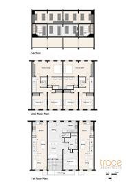 finding new uses for baltimore s many vacant rowhouses curbed floorplans for the altered rowhouses