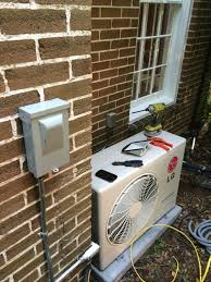 mitsubishi mini split install mini splits are great for old historic homes