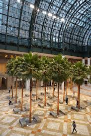 winter garden at brookfield place holiday decor new york
