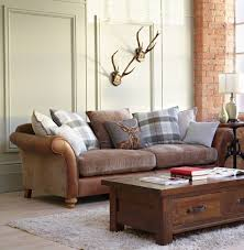 Leather And Upholstered Sofa Furniture Leather And Fabric Sofa Beautiful Bination Leather And