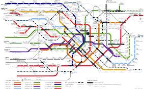 5 Train Map Tokyo Subway Map Tokyo U2022 Mappery