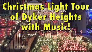 dyker heights christmas lights tour 2017 dyker heights christmas light display tour 2017 musical video with