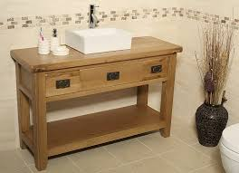 Solid Wood Bathroom Vanities Oak Bathroom Vanity Earth Friendly Texture U2014 The Homy Design