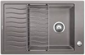 drop in kitchen sink with drainboard blanco 401616 precis dual mount single bowl drop in undermount