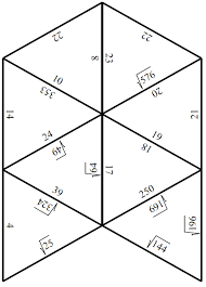 engaging math tarsia puzzle squares and square roots
