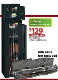 black friday deals on gun cabinets stack on 10 gun security cabinet with bonus pistol ammo cabinet
