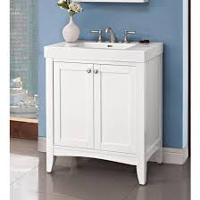 Ferguson Vanities Bathroom Floating Fairmont Vanities With Shelves In White For