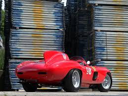retro ferrari 1955 ferrari 857 sport scaglietti spider 0588m race racing