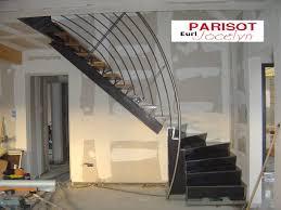 rambarde escalier design métallerie ferronerie menuiserie jocelyn parisot galerie photos
