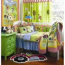 Tractor Crib Bedding Farm Baby Bedding For Boys Farmyard Baby Crib Bedding By