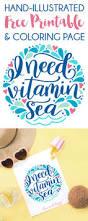 vitamin sea free printable coloring page dawn nicole designs