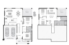 Garage Floorplans by Horizon Floorplans Mcdonald Jones Homes