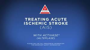 activase alteplase for acute ischemic stroke treatment