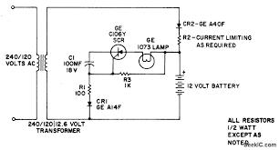 emergency light led and light circuit circuit diagram seekic com