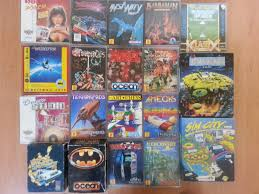 my collection of amiga games that i found cleaning my old room