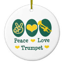 trumpet player ornaments keepsake ornaments zazzle