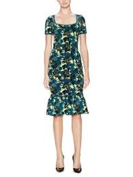 norman cotton fitted print dress by stella jean now available on